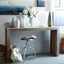 modern console table decor emmerson 174 reclaimed wood console consoles and console tables