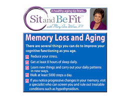 tips on preventing memory loss sit and be fit