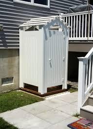 How To Plumb An Outdoor Shower - outdoor shower changing room www showeroutdoor com outdoor