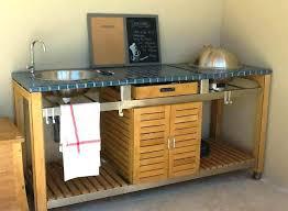 meuble cuisine exterieure meuble sous evier cuisine exterieur four a socialfuzz me