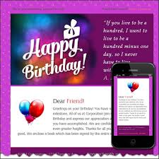 11 birthday email templates free sample example format