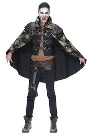 Mens Steampunk Halloween Costumes Steampunk Vampire Costume Men Masquerade Express