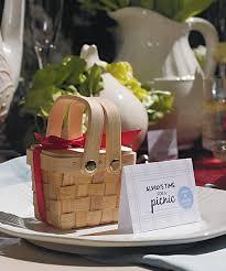 summer wedding favors summer wedding favors mini picnic baskets