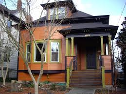striking house beautiful paint colors seen from house exterior