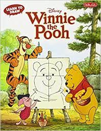 learn draw disney u0027s winnie pooh featuring tigger eeyore