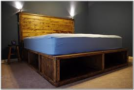 How To Make A Platform Bed by Modern How To Make A Platform Bed With Storage For Images House