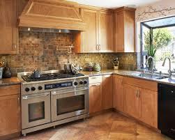 Slate Backsplash In Kitchen by Slate Mosaic Tile Houzz
