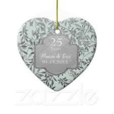 25th wedding anniversary christmas ornament 16 best 50th wedding anniversary christmas ornament images on