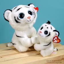 tundra ty beanie babies white tiger