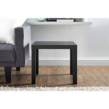 Tall End Tables Living Room by Amazon Com Mainstays Parsons End Table Multiple Colors Black