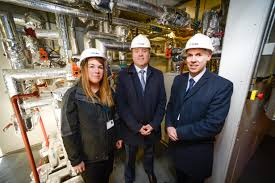 msp warms up with visit to cube u0027s gorget energy centre scottish