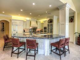 blue bahia granite countertops with luxury kitchen island of blue