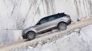 new land rover evoque new range rover velar suv officially unveiled