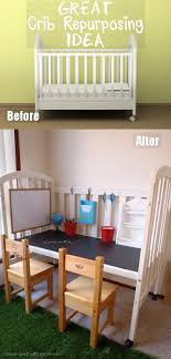 When Do You Convert A Crib To A Toddler Bed Diy Crib Conversion To Practical And Station And Desk