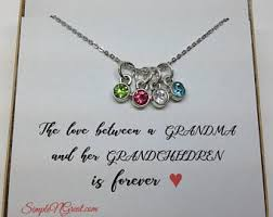 grandmother necklaces grandmother gifts etsy
