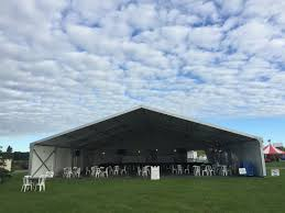 Celina Tent 72 Round Table Clearspan Tent Semi Permanent Structures Area Rental