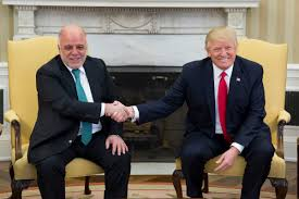 president trump u0027s meeting with the prime minister of iraq haider