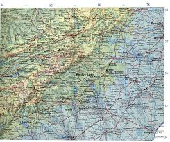 Map Of Southern Virginia by University Of Western Ontario