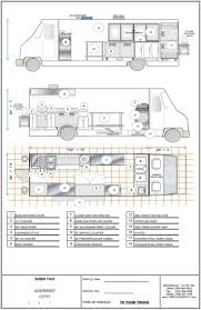 sprinter van conversion floor plans food inspiration food truck plans fashionviral pinterest