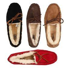 black ugg slippers ugg slippers men women dakota moccasins ebay