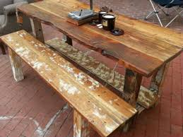 wooden table and bench rustic wood table and bench coma frique studio 5ebe5dd1776b