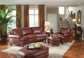 Leather Conversation Sofa Smith Brothers Of Berne Inc Catalog