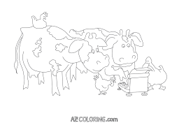 click clack moo cows that type coloring page coloring home