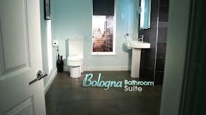 L Shaped Bathroom Suite Bologna Suite