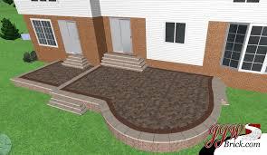 2017 Brick Paver Costs Price Charming Design Cost Of Brick Patio Interesting Patio Decor Brick