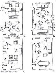 furniture arranging tricks paths scale and window