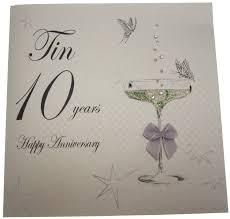 10th year wedding anniversary wedding gift new ten year wedding anniversary gifts from every