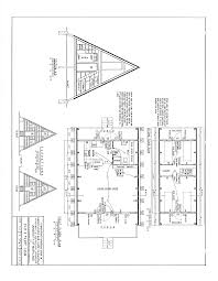 a frame house plan free a frame cabin plans blueprints construction documents sds plans