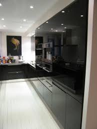 cuisine noir laqué best cuisine equipee noir laque contemporary lalawgroup us