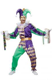 mardi gras attire for party festive mardi gras jester costume purecostumes
