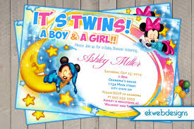 mickey mouse baby shower invitations and minnie ba shower invitations mickey and minnie mouse