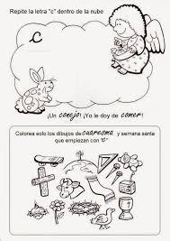 imagenes para colorear y escribir oraciones el rincón de las melli un ángel para cada letra para colorear