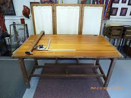 Vemco Drafting Table Vintage K E Hudson Large Drafting Table Ebay