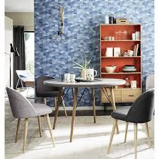 tavoli per sala da pranzo tavolo rotondo in legno per sala da pranzo d 120 cm maisons du monde