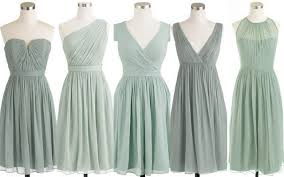 Muted Green by Seafoam Green And Sky Blue Real Wedding