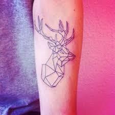 25 awesome geometric animal tattoos temporary tattoo blog