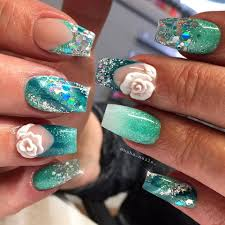 56 easy glitter nail design ideas for sporting the cool look