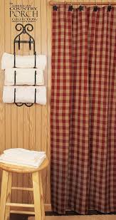 Country Shower Curtains For The Bathroom Impressive Country Style Shower Curtains And 46 Best Shower Stalls
