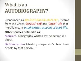 biography definition of biographies