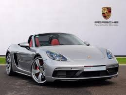 pistonheads porsche boxster used 2017 porsche boxster roadster 718 s 2dr pdk for sale in