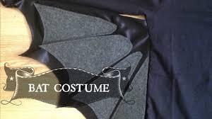 diy halloween bat costume diy with manneken youtube