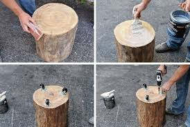 coffee table how to build a stump coffee table tos diy canada