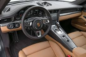 porsche carrera interior 2017 porsche 911 turbo cabriolet first test the ultimate socal