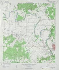 Colorado River Texas Map Texas Topographic Maps Perry Castañeda Map Collection Ut