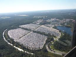 the five largest parking lots in the world