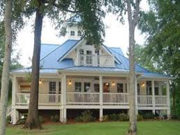 46 lake home plans with porches lake house plans with rear view